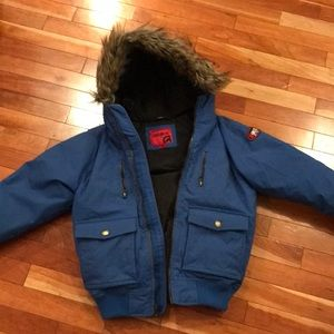 Size 10/12 boys winter jacket in good condition